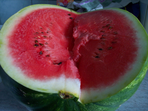 how to tell if a watermelon is good or bad