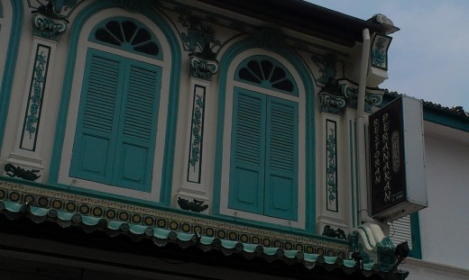 This restaurant is located in a renovated traditional townhouse along Heeren Street (or Jalan Tun Tan Cheng Lock).