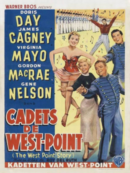 The West Point Story (1950) Belgian poster