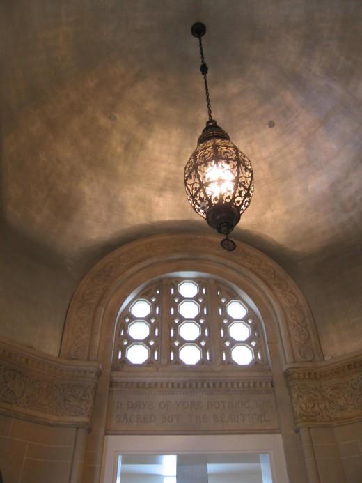 silver leaf dome