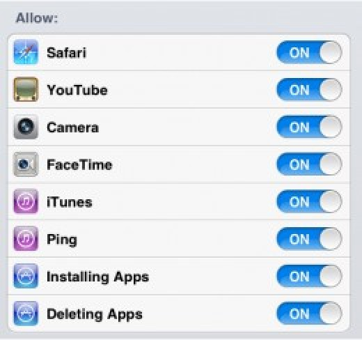 Enable Default Apps