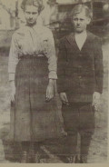 Cora and Her brother George Franklin