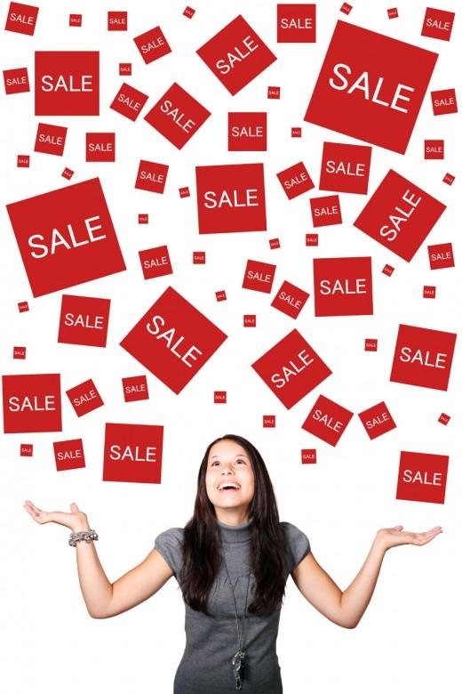 Sales everywhere!
