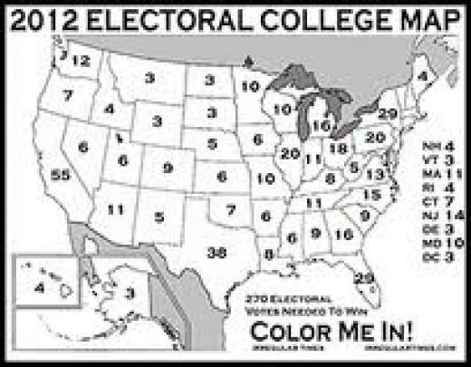 Total Electoral Votes - 538