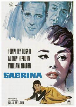 Sabrina (1955) Spanish poster