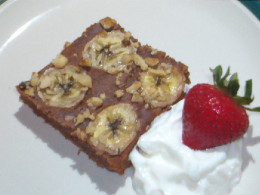 Cocoa-Banana Cake