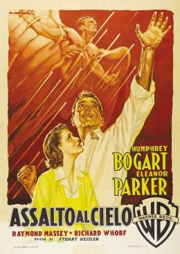 Chain Lightning (1950) Italian poster