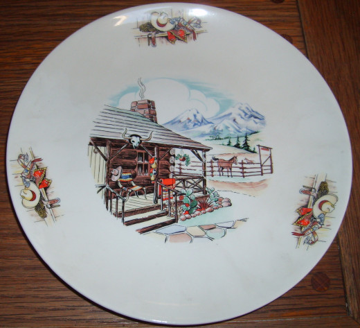 Homer Laughlin dinner plate