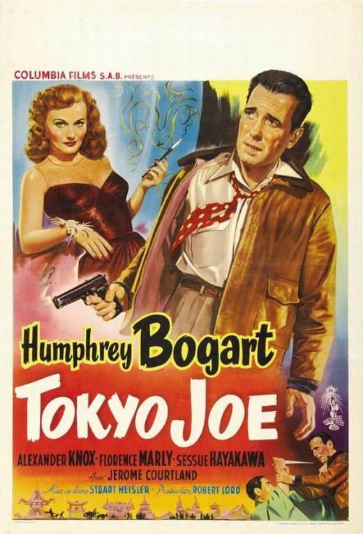 Tokyo Joe (1949) Belgian poster