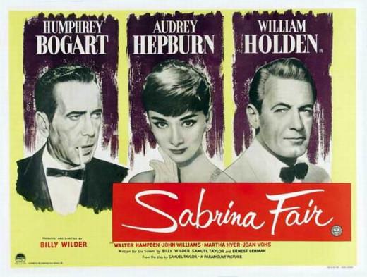 Sabrina (1954) UK poster