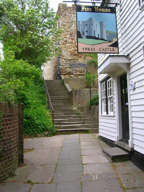 Gun Garden Steps, Rye