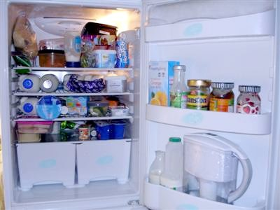 Clean Out The Fridge on New Year's Day!