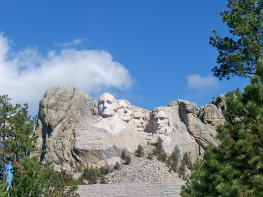 Mount Rushmore - Zoomed out