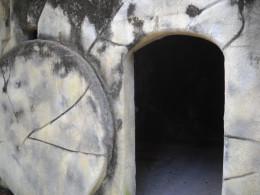 Empty tomb replica