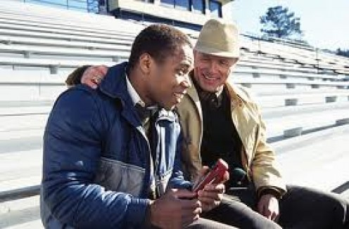 Radio stars Cuba Gooding, Jr. As a disabled man. He slowly but surely earns the respect of the football team.