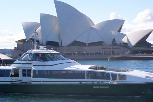 Paramatta River Cat Sydney Harbour Ferries
