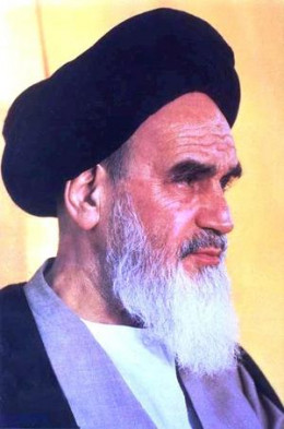 At one time, this man was the center of attention in the world and the number 1 man on the enemies list for targeted destruction. Khomeini's claim to fame was the Islamist revolution in Iran that took the country out of western dominated influence.