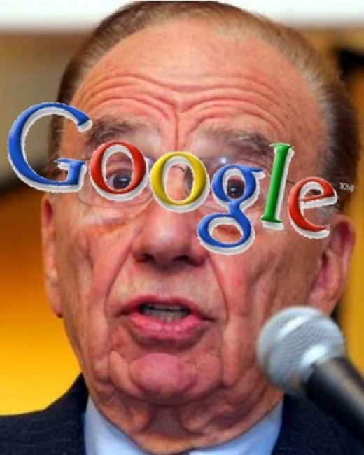 Google is a threat in Rupert Murdoch's eyes