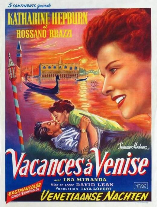 Summertime (1952) Belgian poster