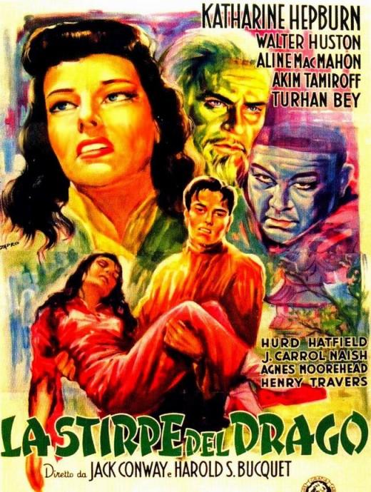 Dragon Seed (1944) Italian poster