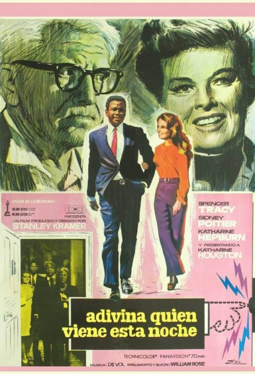 Gues Whos Coming to Dinner (1967) Spanish poster
