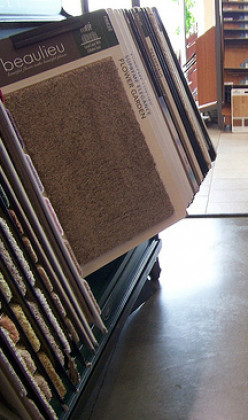 Do your research before shopping for carpet.