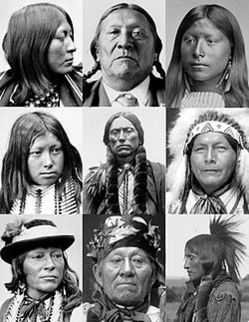 COMANCHE FACES