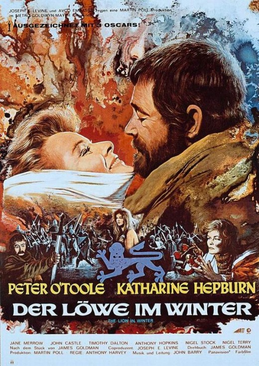 The Lion in Winter (1968) German poster