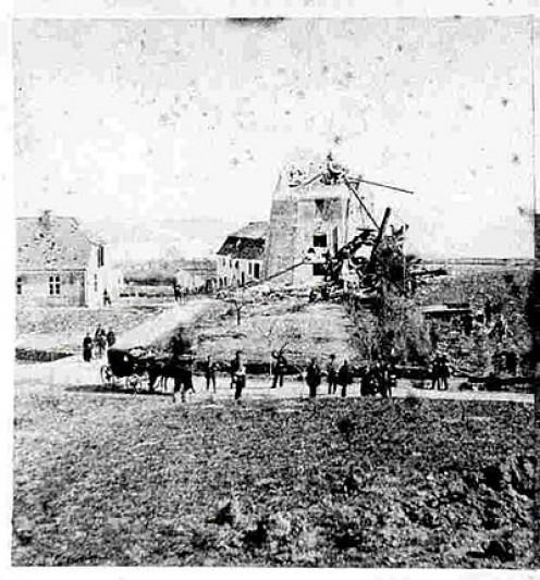 The Mill at Dybbøl, April 18, 1864