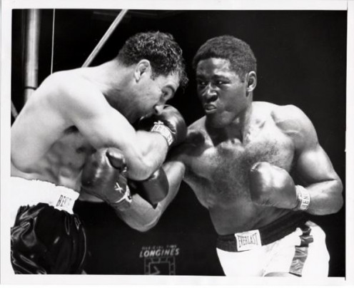 Rocky Marciano and Ezzard Charles met twice with The Rock winning both times, one by decision and a knockout in the rematch in the 8th round.