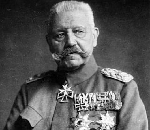 Field Marshal  Hindenburg