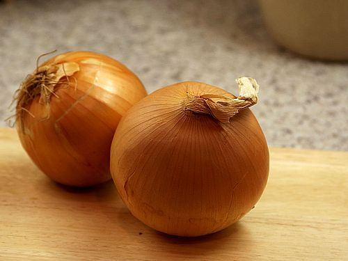Onions, a bulb that everyone's familiar with.