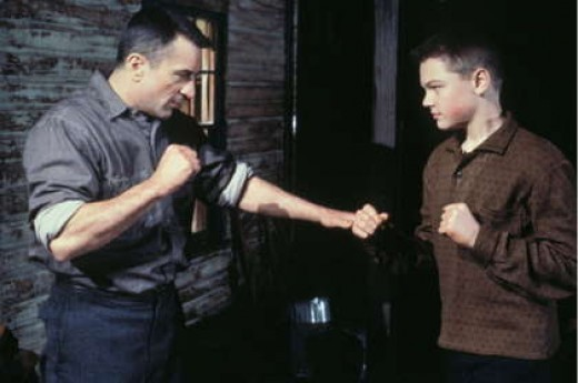 Leonardo DiCaprio and Robert DeNiro in This Boy's Life 1993