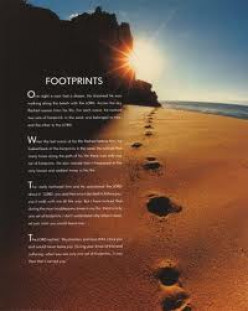 What Does The Poem Footprints Really Mean?