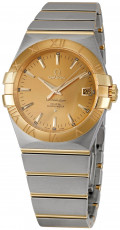 Omega Men's 123.20.35.20.08.001 Constellation Champagne Dial Watch