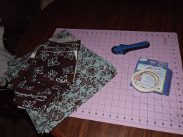 Items for making table runners.