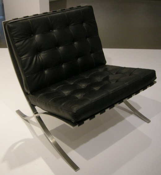 This chair has been called the Chaise Lounge, Barcelona Chair and the Barcelona Chaise.