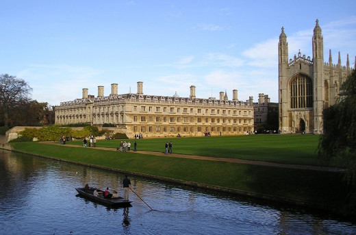 Cambridge University in England - one of the most prestigious and well known universities around the world.