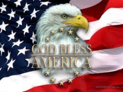 """I do not own this image.  It was obtained through a Google search using the phrase """"God bless America public domain image""""."""