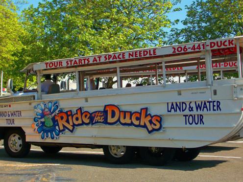 The Ducks Amphibious Tour Cruiser