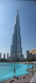 Burj Khalifa, Dubai, The Tallest Building in the World