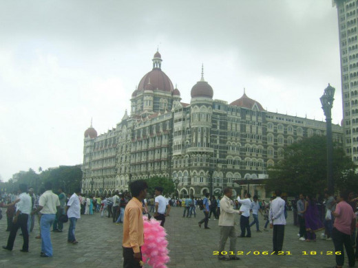 The famous Taj Hotel, Mumbai