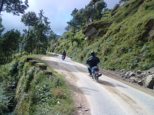Some of the dangerous road of Nepal.