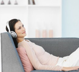 Listen to soft music