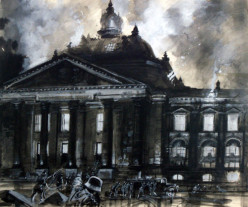 Graham Coton's burning of Reichstag