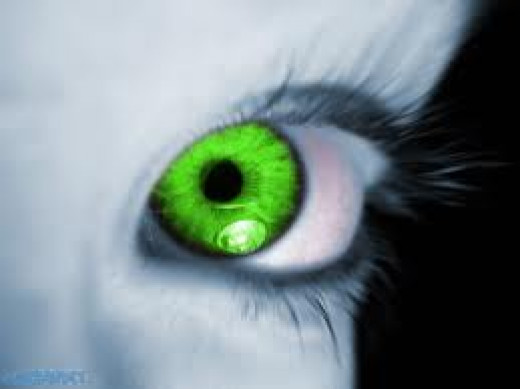 A GREEN-EYED MONSTER LIVES IN US ALL