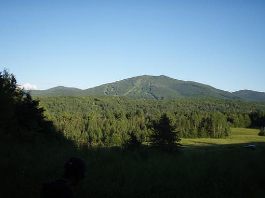 Burke Mountain near the Kingdom Trails