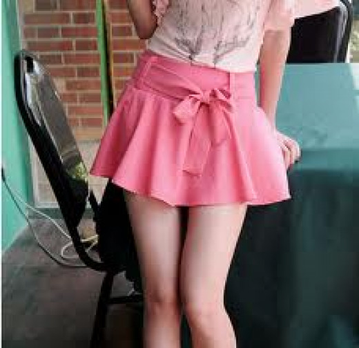 IS THIS SKIRT ANNOYING TO YOU?  MAYBE THAT'S BECAUSE SECRETLY, YOU WANT IT!  SO ...WHY NOT BUY ONE FOR YOURSELF?