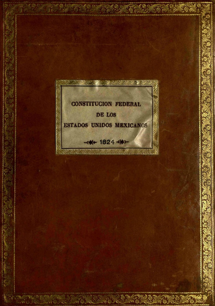 The Constitution of the United Mexican States of 1824
