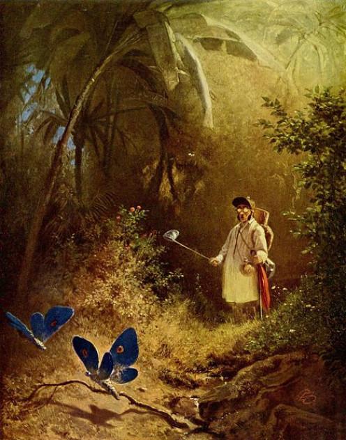 Painting by Carl Spitzweg 1808-1885